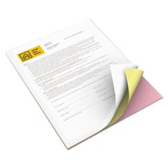 Revolution Digital Carbonless Paper, 8 1/2 x 11, Wh/Can/Pink, 5,000 Sheets/CT