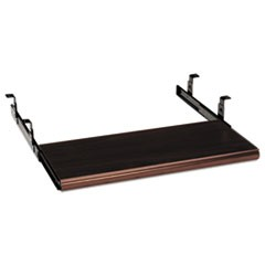 Slide-Away Keyboard Platform, Laminate, 21-1/2w x 10d, Mahogany