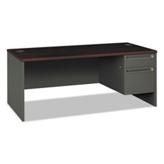 DESK,72X36,S/PD,RT,MY/CC