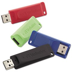 Store 'n' Go USB 2.0 Flash Drive, 16GB, 4/Pack