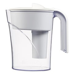 Classic Water Filter Pitcher, 48 oz, White