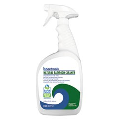 All-Natural Bathroom Cleaner, 32 oz Spray Bottle, 12/Carton