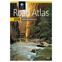 Road Atlas, North America+Puerto Rico, Soft Cover, 2016