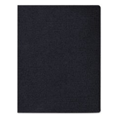 Linen Texture Binding System Covers, 11-1/4 x 8-3/4, Navy, 50/Pack