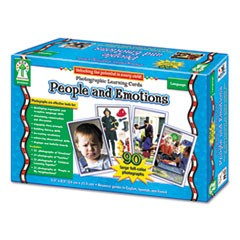 Photographic Learning Cards Boxed Set, People and Emotions, Grades K-12
