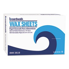 "Interfold-Sheet Deli Paper, 8"" x 10 3/4"", White, 500 Sheets/Box, 12 Box/Ctn"