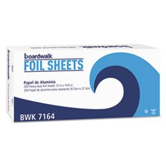 Pop-Up Aluminum Foil Sheets, 12 x 10 3/4, Silver, 2400/Carton