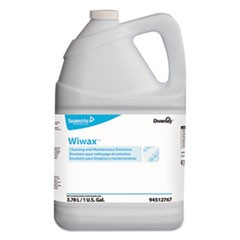 Wiwax Cleaning & Maintenance Emulsion, Liquid, 1 gal Bottle, 4/Carton