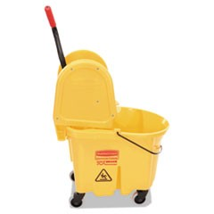 Wavebrake 35 Quart Bucket/Wringer Combinations, Yellow