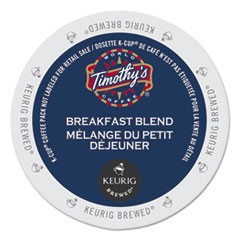 Breakfast Blend Coffee K-Cups, 24/Box