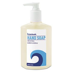 Liquid Hand Soap, Floral, 8oz Pump Bottle, 12/Carton