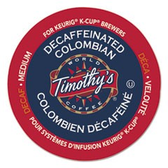 Colombian Decaf Coffee K-Cups, 24/Box
