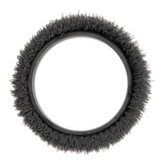 "Orbiter Carpet Shampoo Brush, 12"" dia, Black"