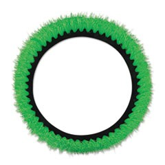 "Orbiter All-Surface Brush, 12"" dia, Green"
