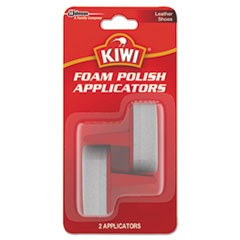 KIWI Foam Polish Applicators, White, 12/Carton