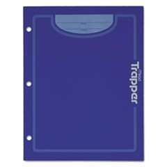 Trapper Keeper Two-Pocket Paper Folder, 9 3/8 x 12, Assorted Colors