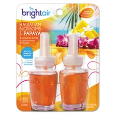 Electric Scented Oil Air Freshener Refill, Hawaiian Blossoms and Papaya, 2/Pack