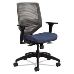 Solve Series ReActiv Back Task Chair, Midnight/Charcoal