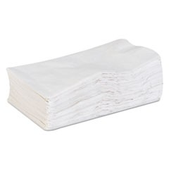 acclaim Dinner Napkins, 1-Ply, White, 15 x 17, 200/Pack, 16 Pack/Carton