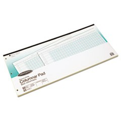 Accounting Pad, 25 Six-Unit Columns, 11 x 24 1/4, 50-Sheet Pad