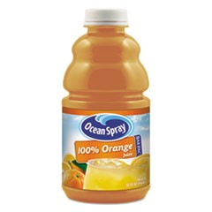 100% Juice, Orange, 32 oz Bottle, 12/Carton