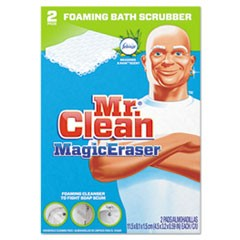 "Magic Eraser Bathroom Scrubber, 4 1/2"" X 3 1/5"", 2/Box"