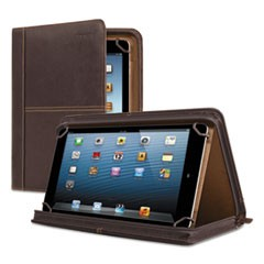 "Premiere Leather Universal Tablet Case, Fits Tablets 8.5"" up to 11"", Espresso"