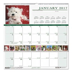 CALENDAR,WALL MNTHLY,PUP
