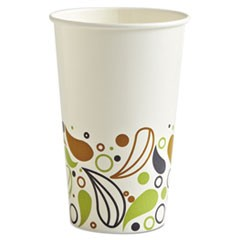 Deerfield Printed Paper Cold Cups, 16 oz, 50 Cups/Pack, 20 Packs/Carton