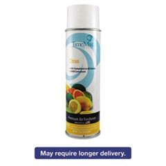 Premium Hand-Held Air Freshener, Citrus, 10oz Aerosol, 12/Carton