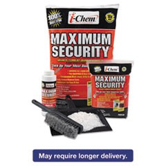 Maximum Security Sorbent, Granular, White, 1 Pound, Bag, 6/Carton