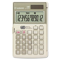 LS154TG Handheld Calculator, 12-Digit LCD