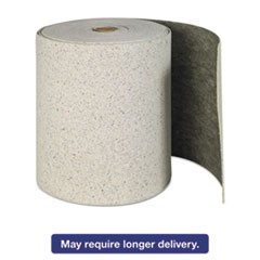 "Re-Form Plus Sorbent-Pad Roll, 62gal, 28 1/2"" x 150ft, Gray"