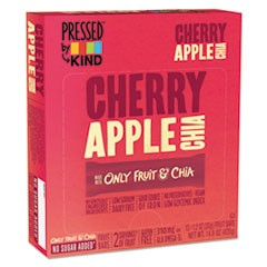 Pressed by KIND Bars, Cherry Apple Chia, 1.2 oz Bar, 12/Box