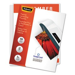 ImageLast Laminating Pouches with UV Protection, 5 mil, 11 1/2 x 9, 100/Pack