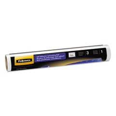 "Self-Adhesive Laminating Roll, 3mil, 16"" x 10 ft, Glossy Finish"