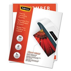 Laminating Pouches, 5mil, 11 x 9, Letter Size, 100/Pack