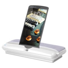 Universal Bluetooth Speaker with Stand, White