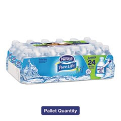 Pure Life Purified Water, 8 oz Bottle, 48/Carton, 2880/Pallet
