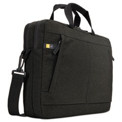 "Huxton 15.6"" Laptop Bag, 2 7/8 x 16 x 11 7/8, Black"
