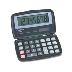LS555H Handheld Foldable Pocket Calculator, 8-Digit LCD