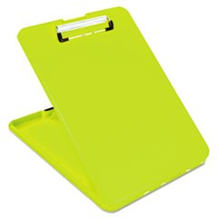 "SlimMate Storage Clipboard, 1/2"" Clip Cap, 8 1/2 x 11 Sheets, Hi-Vis Yellow"