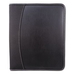 Writing Case, 9 x 11 x 1, Black, Leather
