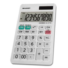 EL-377WB Large Pocket Calculator, 10-Digit LCD