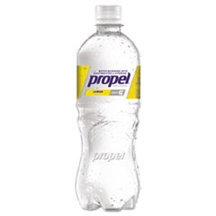 Flavored Water, Lemon, Bottle, 500mL, 24/Carton