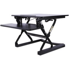 AdaptivErgo Sit-Stand Lifting Workstation, 26 3/4 x 31 x 19 5/8, Black