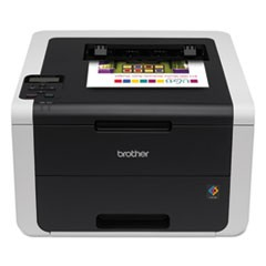 HL-3170CDW Digital Color Printer with Duplex Printing and Wireless Networking