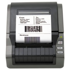 "QL-1050 Wide Format PC Label Printer, 69 Labels/Min, 6-3/5""w x 8-3/5""d x 5-4/5""h"
