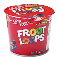 Froot Loops Breakfast Cereal, Single-Serve 1.5oz Cup, 6/Box