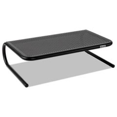 Metal Art Monitor Stand, 18 1/2 x 12 1/4 x 5 1/4, Black